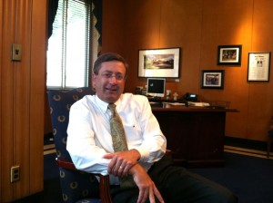 Sioux Falls Mayor Mike Huether (Amy Sullivan, National Journal)