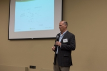 Heartland CEO Russell Olson welcomes attendees and gives a year in review.
