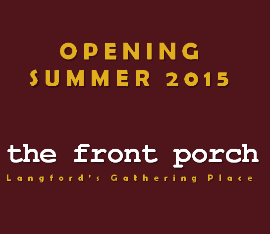 front porch banner